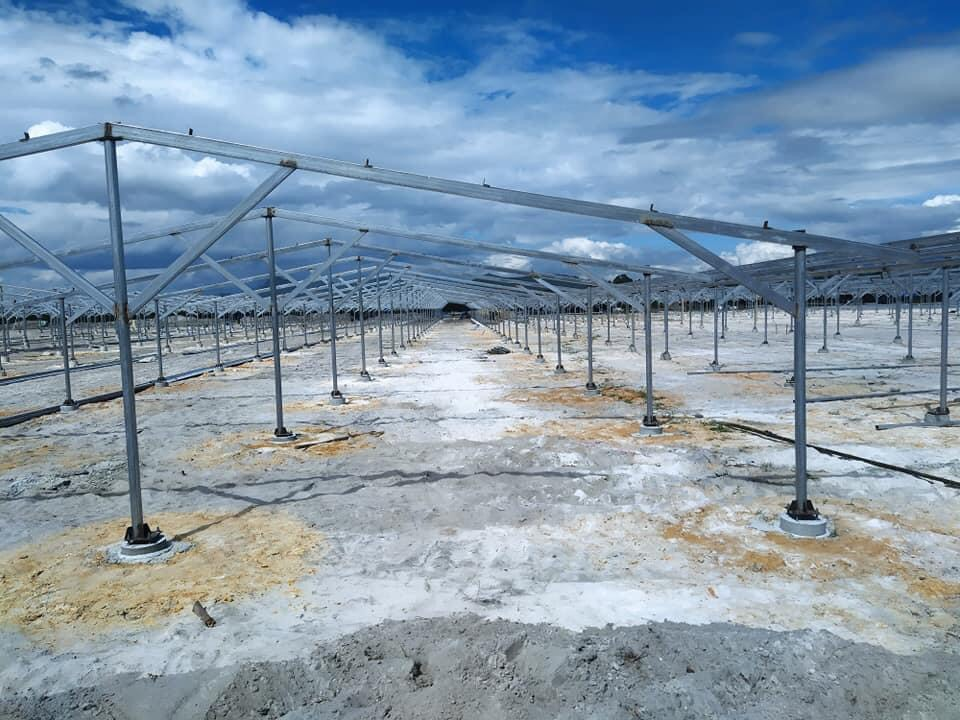khung lắp đặt pin năng lượng mặt trời giá rẻ chất lượng tốt