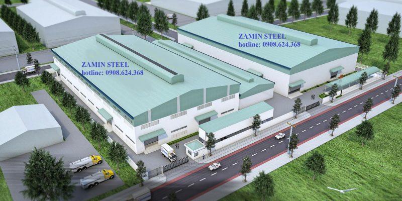 Thiết kế nhà xưởng tại đà nẵng