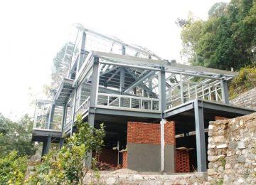 thiết kế kết cấu thép nhà thép tiền chế 2 tầng