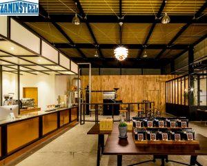 Báo giá nhà thép tiền chế quán cafe đẹp