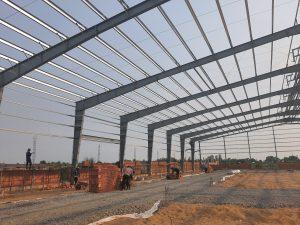 Thiết kế nhà xưởng may công nghiệp quy mô 4000m2