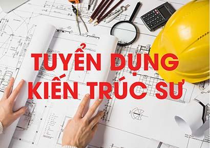 Cần tuyển dụng kiến trúc sư